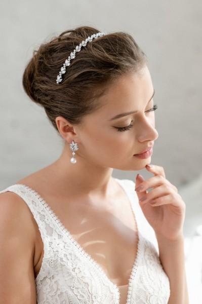 Braut-Tiara Catalina| Silber