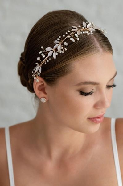 Braut-Haarband Maite | Rose