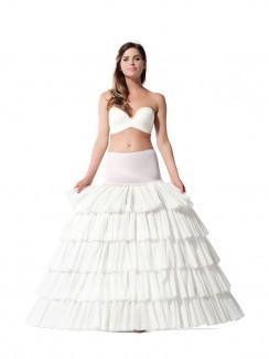 Prinzessinnen-Petticoat mit Jersey-Hüftteil
