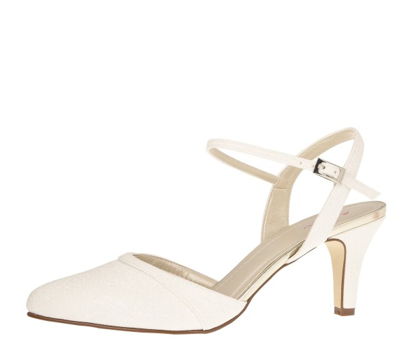 Brautschuh Marlie off-white metallic