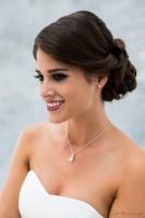 Perlenkette und Ohrringe BBJ02