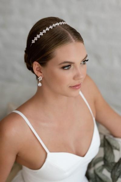 Braut-Tiara Florencia   Rose