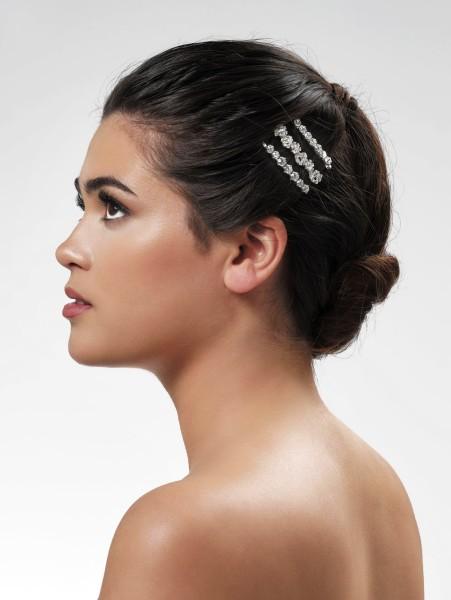 Haarspangen mit Strasssteinchen | 3er Set