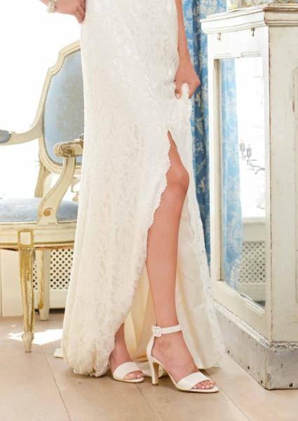 Brautschuh Cherelle perle