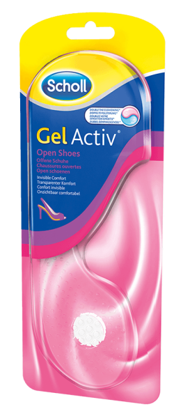 Scholl GelActiv Einlegesohle Offene Schuhe