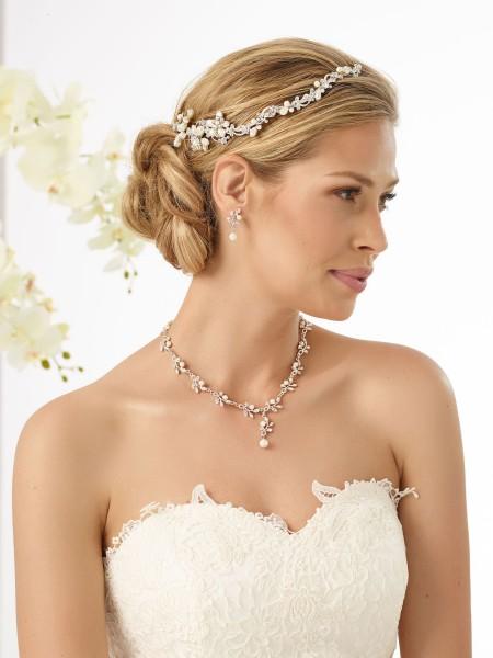 Leonie Vintage Haargesteck - Haardraht für die Braut | Hochzeit | Brautfrisur