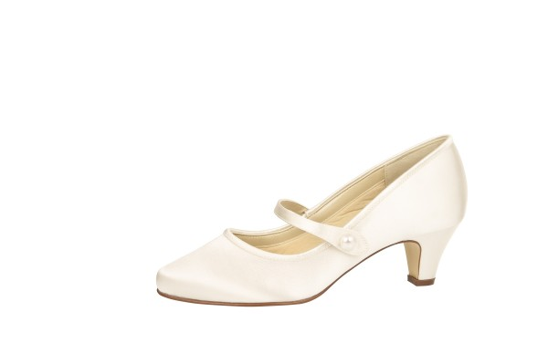 Brautschuh Heather ivory