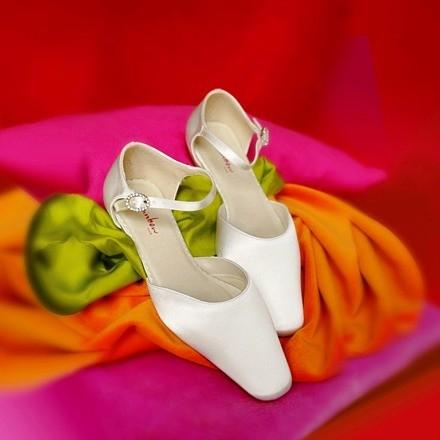 Hochzeitsschuh Gail Weiß (White) SALE %