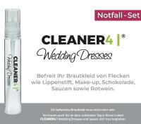 Fleckenentfener Reiniger für Brautkleid, Brautschuhe, Schleier und Braut Accessoieres