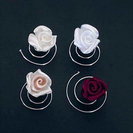 Curlies für die Brautfrisur 2er Set