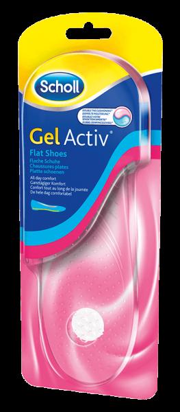 Scholl GelActiv Einlegesohle Flache Schuhe