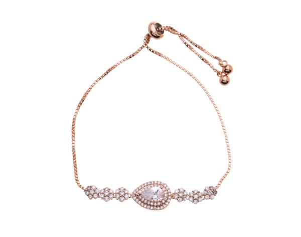 Roségold Armband für die Braut