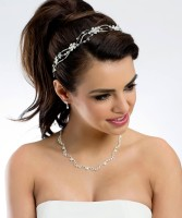 Ivy Halskette mit Ohrringen