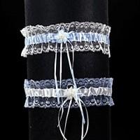 Strumpfband 223A blau