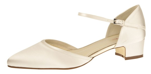Brautschuh Piper Rainbow Club ivory
