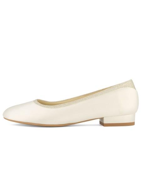 Romy - Avalia Brautschuhe by Bianco Evento - Ansicht Schuh von der Seite