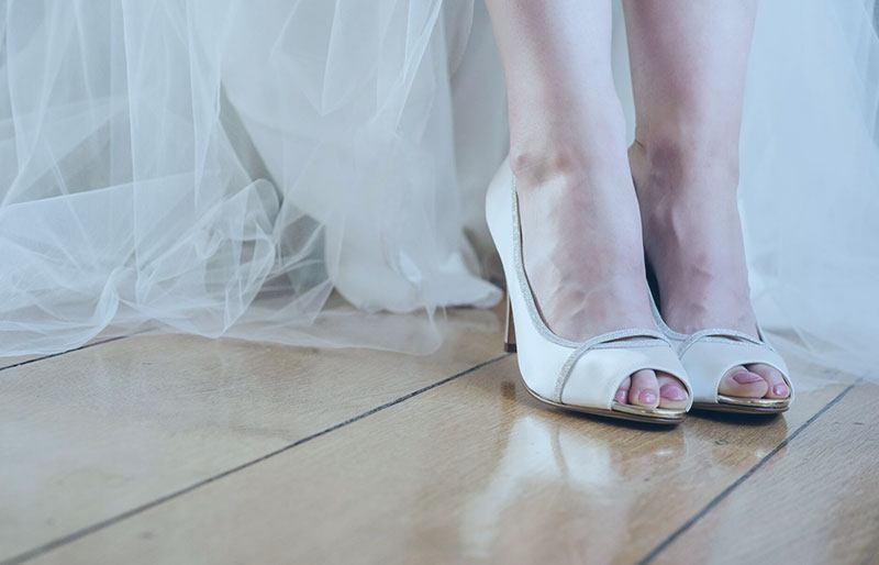 Brautschuhe online im Outlet kaufen