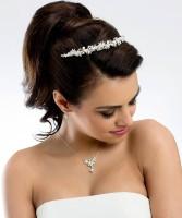 Braut mit Diadem Cassandra