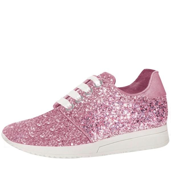 Lizzi Sneaker Rose Glitter
