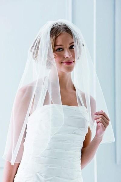 Brautschleier 1-Stufig