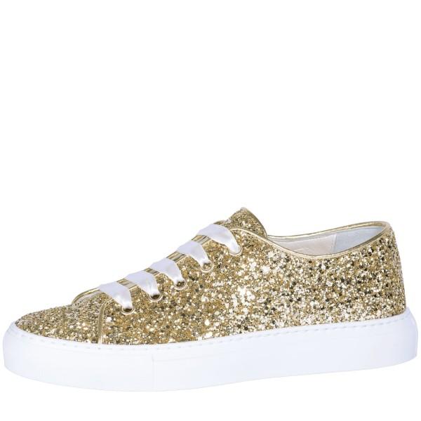Brautsneaker Suzan Gold Glitter