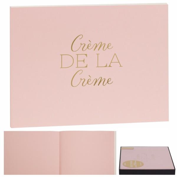 """Gästebuch """"Créme de la Créme"""""""