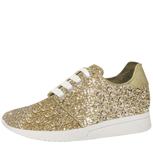 Lizzi Sneaker Gold Glitter