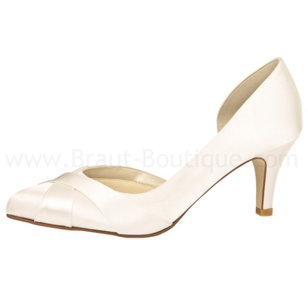 SALE % Brautschuh Loreen ivory (creme) Rainbow Club