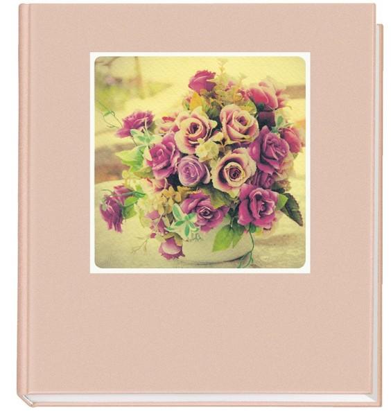 Hochzeits Gästebuch mit Blumen Motiv
