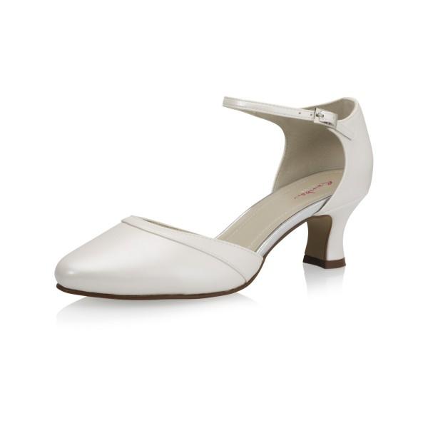 Vegane Schuhe | Brautschuh Pretty Angel Seitenansicht schräg