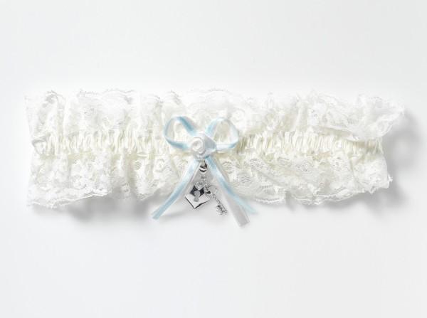XXL-Strumpfband mit Accessoire