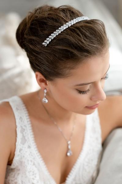 Braut-Tiara Isidora | Silber