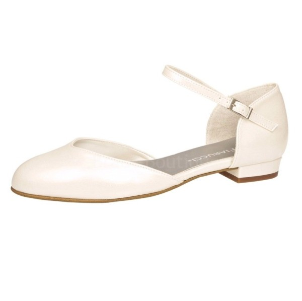 Brautschuh Great Heart perle (creme) Miss Fiarucci