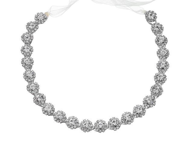 Haarband 3766 silber
